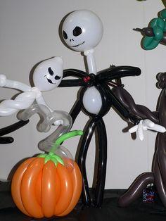 Balloon Twisted Halloween