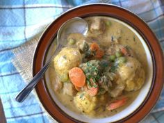 Rosemary Chicklins and Dumplins Stew from Mastering the Art of #Vegan Cooking