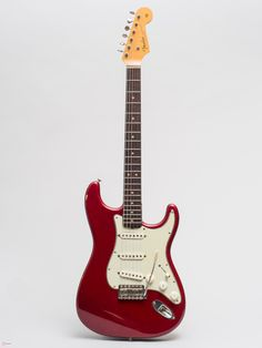 1963 Fender Stratocaster Candy Apple Red