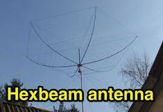 Hexbeam 6 bands antenna