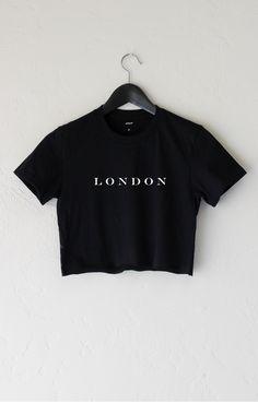 ✖️Pinterest: @foreveree✖️ London Crop Top