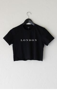 ✖️Pinterest: @foreveree✖️ London Crop Top