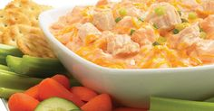 Union Chef: Buffalo Chicken Dip!   Need a recipe for your next football party? It's a great twist on the traditional buffalo wings and a dipper's delight.