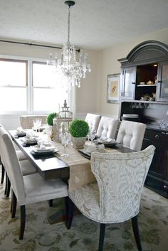 One day my dining room will look like this!