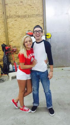 Squints & Wendy from the Sandlot Halloween Costumes!
