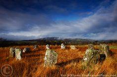 Reanascreena stone circle, Co. Cork, Ireland (photo by Ken Williams)