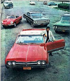 Oldsmobile Cutlass  Supreme  Conversível -   1966  de Roberto Carlos - Em ritmo de aventura (Willys Interlagos, Chevrolet Impala e Cadillac Fleetwood)