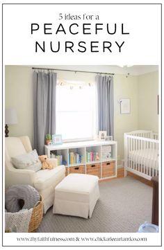 Peaceful Nursery Ideas I love!