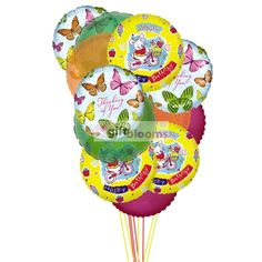Balloons Full Of Excitement Send The Birthday To Tell Your Loved Ones