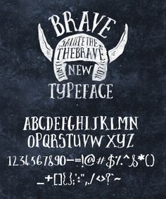 Check out Brave New Font Pack & Graphic Extras by Nicky Laatz on Creative Market