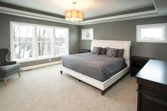 15825 Vicksburg Ridgeview Master Bedroom Vaulted Ceiling Crown ...