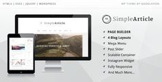This Deals Simple Article - Wordpress Theme For Personal Blogin each seller & make purchase online for cheap. Choose the best price and best promotion as you thing Secure Checkout you can trust Buy best