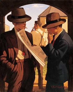 Jack Vettriano Bad, Bad Boys oil painting for sale