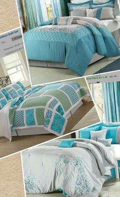 Trying To Decide On Some New Teal Bedding