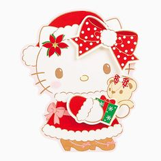 #HelloKitty #XMas card (*^◯^*) ハローキティ クリスマスカード(サンタ服) | グッズ | サンリオ