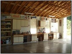 White And Brown Garage Cabinets Plans Plywood Kitchen, Plywood Cabinets, Diy Garage, Garage Plans, Kitchen Cabinets Nz, Garage Storage Cabinets, Cabinet Plans, Design Ideas, House Design