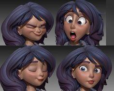 Картинки по запросу 3D characters expression