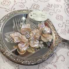 A @miaelenabridal exclusive custom mother of pearl & Swarovski comb #miaelenabridal #bridalboutique #bridalcouture #bridalaccessories #bridaljewelry #bridalheadpiece #bridalveils #bridalgarters #bridalrobes #bridalstyle #instabride #bride #brides #bridal #bridetobe #futuremrs #engaged #engagement #shesaidyes #isaidyes #njbride #nybride #longislandbrides #statenislandbrides