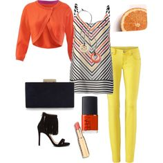 Oranges and Lemons,  Spring 2016 by nicki-jones-1 on Polyvore featuring Steve Madden, Monsoon, NARS Cosmetics, CAbi, women's clothing, women's fashion, women, female, woman and misses