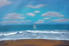 Beach of Serenity by DavidWilkinStudios on Etsy
