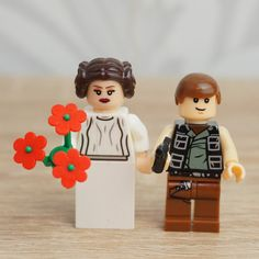 Star Wars wedding cake topper, Han Solo and Leia StarWars Cake Topper, Star Wars…