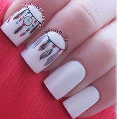 Nails Art - white
