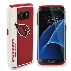 Forever Collectibles NFL Dual Hybrid TPU Samsung Galaxy S7 Rugged Case  Retail Packaging  Arizona Cardinals ** Want to know more, click on the image.