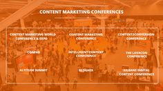 Top 9 Digital Marketing Conferences on Content Marketing