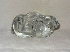Clear Glass Bunny Rabbit Votive Candle Holder $6.00