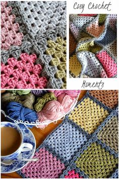 Annie's Place: Giddy for Granny Squares and Giveaway Goodies