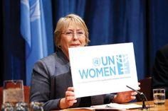 En el Día Internacional de la Mujer, Michelle Bachelet hizo hincapié en que la discriminación y la violencia contra las mujeres:
