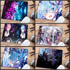 NEKOPARA Group Large Table Cosplay Mouse Pad 40*70 cm New 02