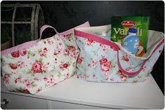 Sophie Porcelain: Anleitung für eine Strandtasche oder auch Einkaufstasche