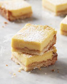 I Tried Four Popular Lemon Bar Recipes and Found the Best One Baking Recipes, Bar Recipes, Dessert Recipes, Baking Tips, Bread Baking, Yummy Recipes, No Bake Desserts, Easy Desserts, Best Lemon Bars