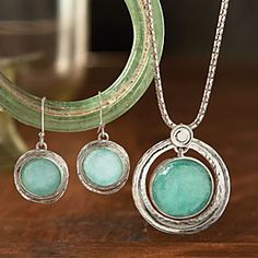 Roman Glass Necklace | National Geographic Store - genuine Roman glass jewelry -- cool!