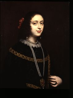 Portrait of a Lady, by Justus Sustermans (1597-1681) 1670s
