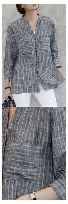 Kurta Designs, Blouse Designs, Linen Dresses, Dresses With Sleeves, Kurta Neck Design, Oversized Shirt, Blouse Styles, Trendy Dresses, Blouses For Women