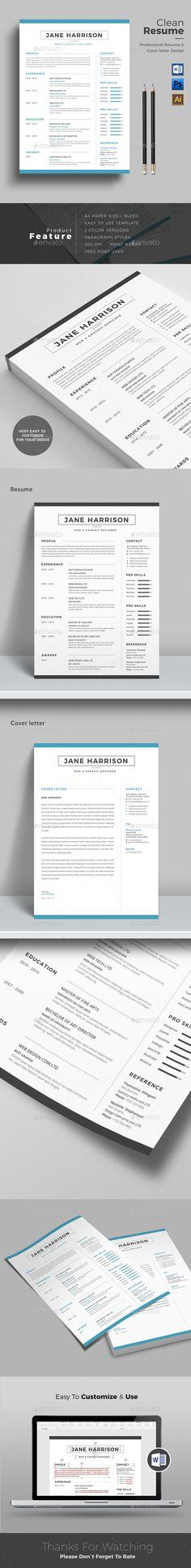 Resume  Template Microsoft Word And Modern Resume Template