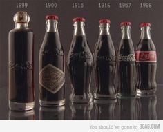 How cool is the 1899 coke bottle.  And to think... that awesome bottle was filled with cocaine -just unbelievable!!