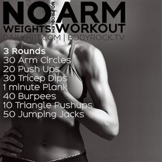 No Weights No Problem Arm Workout
