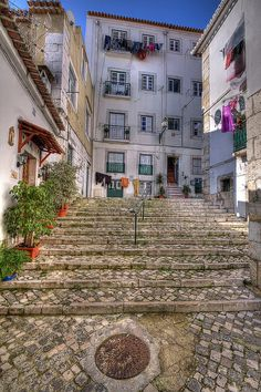 Alfama, Lisbon - the old center of Lisbon