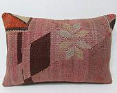 16x24 kilim pillow lumbar colourful cushion cover floor pillow cover kilim rug pillow couch cushion couch pillow bench pillow case old 24979
