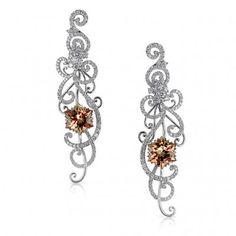 """Blizzard"" Lance Fischer Zultanite earrings, only $40,890!"