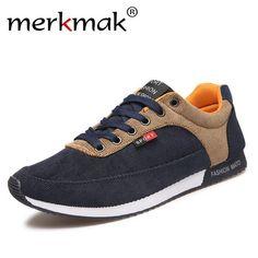 3cb8097beb Casual Shoes w/ Canvas Patchwork Lace Up. SapatosCalçados Masculinos ...
