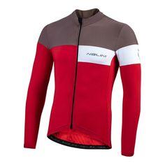 2020 Nalini CORSA Long Sleeve Jersey - RED – Nalini USA 4 Way Stretch Fabric, Range Of Motion, Soft Fabrics, Usa, Cool Stuff, Long Sleeve, Sleeves, Swimwear, Shopping