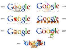 The History of Google Doodles Design | The Design Inspiration
