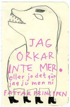 """Nina Hemmingsson: """"JAG ORKAR INTE MER. eller jo det gör jag ju men ni FATTAR PRINCIPEN."""""""