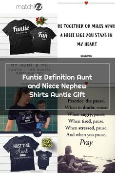 Funtie Definition Aunt and Niece Nephew Shirts Auntie Gift #auntsshirts #auntgifts #auntbabyclothes #auntniece #auntquotes #beinganaunt #funtie #funaunt Nephew Quotes, Aunt Quotes, Aunt Baby Clothes, Auntie Gifts, Cool Ties, Niece And Nephew, Definitions, Fun, Shirts