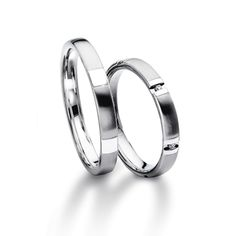 Furrer Jacot Magiques in white gold, platinum or palladium 950 3.00mm