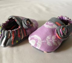 Ring Around The Rosy Baby Shoes available to by LittleThreadWagon, $30.00